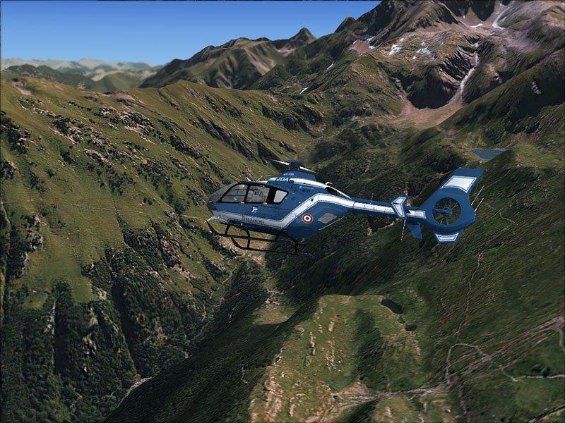 simulateur de vol ec-135-lac-vert